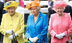 Cách chọn quần áo 'khác người' mỗi ngày của Nữ hoàng Anh