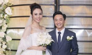 Những khoảnh khắc trong đám cưới Cường Đôla - Đàm Thu Trang