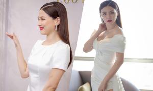 Nữ chính 'Chiếc lá cuốn bay' gợi ý váy cưới cho cô dâu Việt