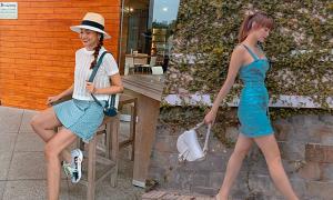 Sao Việt chọn váy ngắn tôn chân thon