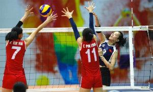 Thanh Thuý vào sân muộn, Việt Nam thắng ngược Triều Tiên
