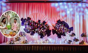Tiệc cưới 'Đông dương huyền bí' của cặp doanh nhân Ấn Độ ở Phú Quốc