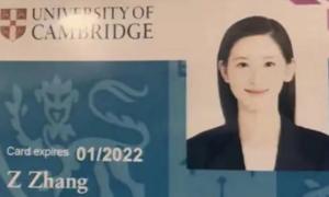 'Hot girl trà sữa' đến Cambridge học sau tin đồn chia tay Lưu Cường Đông