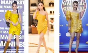 Chiếc váy khiến Ngọc Trinh đụng hàng với loạt người đẹp