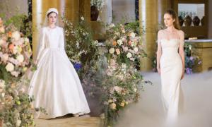 13 mẫu váy giúp cô dâu hóa thành 'nàng công chúa' hiện đại