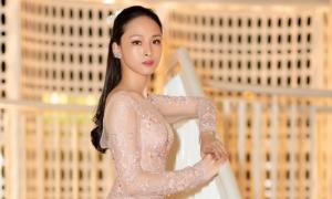 Hoa hậu Phương Nga tăng 4 kg sau nửa năm ra tù