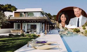 Bên trong villa hướng biển Meghan đón tuổi 38 với chồng con
