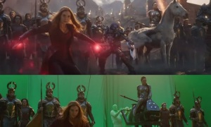 Cảnh đại chiến trong 'Endgame' trước và sau kỹ xảo