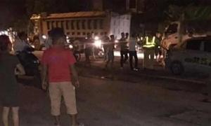 Khởi tố thanh niên đấm vào mặt cảnh sát giao thông