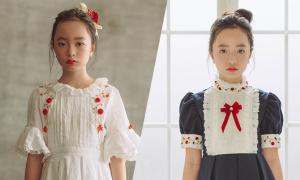 Đầm cổ điển cho bé gái