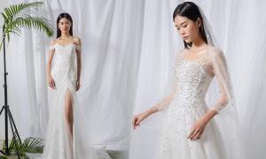 Váy ren gọn gàng cho mùa cưới cuối năm