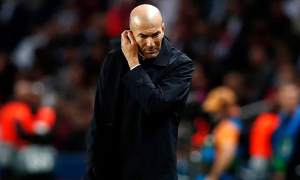 Fan Real Madrid đòi sa thải HLV Zidane