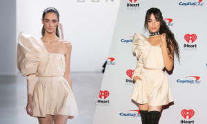 Camila Cabello mặc đầm Công Trí