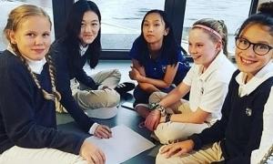 Con gái Vương Phi học ở Thụy Sĩ