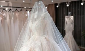 Váy cưới 2 trong 1 cho ngày chớm thu