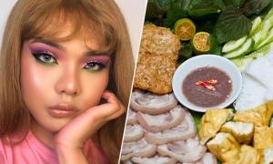 9X Hà Nội lấy cảm hứng trang điểm từ ẩm thực đường phố