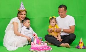 Vy Oanh mừng sinh nhật con gái