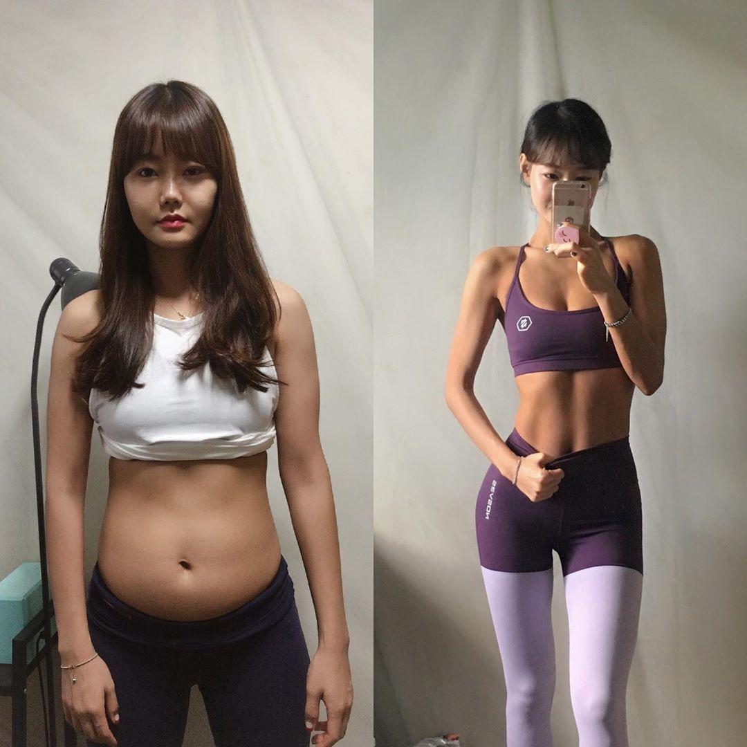 Thực đơn giúp cô gái Hàn Quốc giảm 20 kg - Ngôi sao