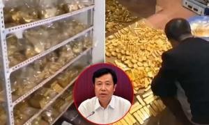 13 tấn vàng rải dưới nền nhà quan tham Trung Quốc