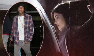 Kylie Jenner nửa đêm đến gặp bạn trai cũ gốc Việt