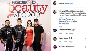 Sao Việt đăng ảnh dự 'Ngoisao Beauty Expo 2019'