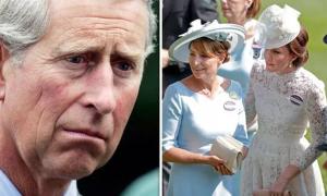 Thái tử Charles chỉ trích bố mẹ Kate
