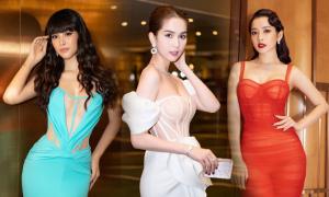 Sao Việt 'mê' váy corset