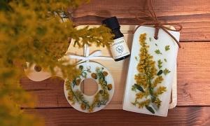 Cách làm sáp thơm không hóa chất
