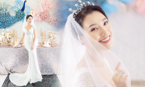 Hoàng Oanh hóa cô dâu, hé lộ 'hôn lễ trong mơ'