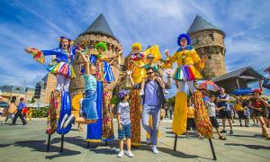 Sun World Ba Na Hills trở thành 'Công viên chủ đề hàng đầu Việt Nam'