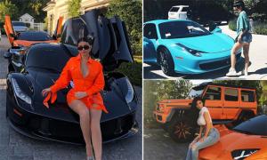Bộ sưu tập xe sang của Kylie Jenner