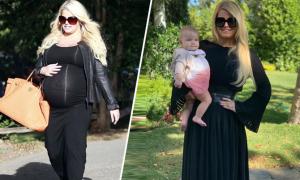 Ăn 5 bữa mỗi ngày giúp Jessica Simpson giảm 45 kg sau sinh