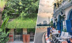 Địa chỉ cuối tuần: Ba quán cà phê đẹp mạn hồ Tây