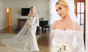 NTK muốn Hailey Bieber thành 'cô dâu xinh đẹp nhất thế gian'
