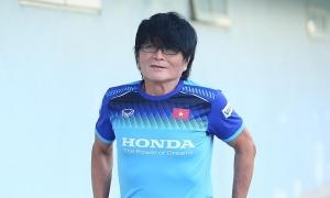 Bác sĩ Choi: 'Đình Trọng chưa thể tập nặng'