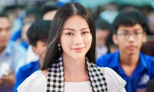 Phương Khánh: 'Vương miện tỏa sáng hơn nhờ tri thức'