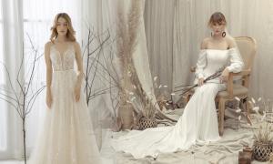 Váy cưới phom dáng gọn gàng