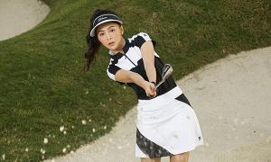 Mỹ Ngọc Bolero gợi ý thời trang tập golf