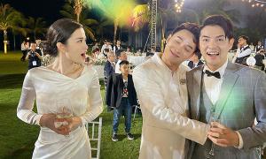 Các sao 'quậy' trong tiệc cưới Đông Nhi
