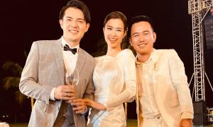 Lê Thanh Hòa làm 2 váy cưới cho Đông Nhi trong một tuần
