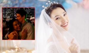 Á hậu Hoàng Oanh cưới bạn trai Tây