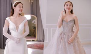 3 váy cưới hơn nửa tỷ đồng của Giang Hồng Ngọc