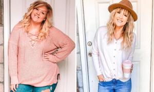 Nguyên tắc giúp mẹ hai con giảm 46 kg
