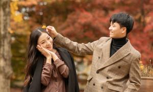 Ảnh cưới nơi 'thiên đường mùa thu' Hàn Quốc