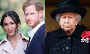 Nữ hoàng ủng hộ Harry đón Noel cùng nhà ngoại