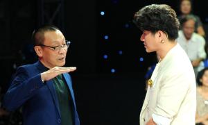 MC Lại Văn Sâm chia sẻ kinh nghiệm cho Vũ Mạnh Cường