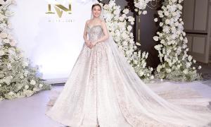 Giang Hồng Ngọc diện 3 váy cưới kiểu Âu