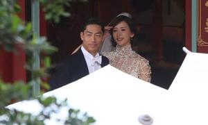 Lâm Chí Linh 'diễn tập' đám cưới