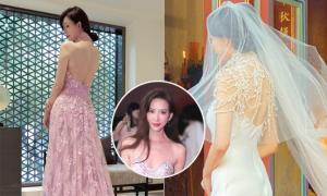 Lâm Chí Linh thay 5 váy trong ngày cưới