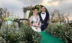 Tiệc cưới cúc họa mi của Á hậu Hoàng Oanh
